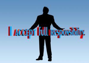 responsibility, take on responsibility, assume
