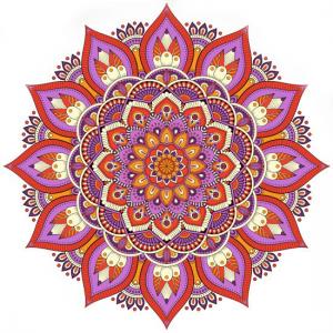 mandala, art terapie